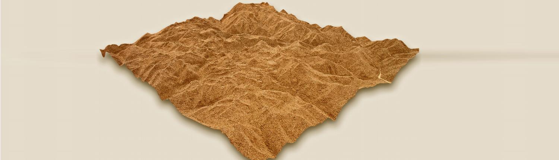 maqueta topográfica