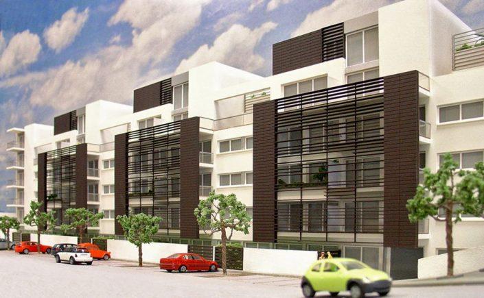 maquetas promocion inmobiliaria