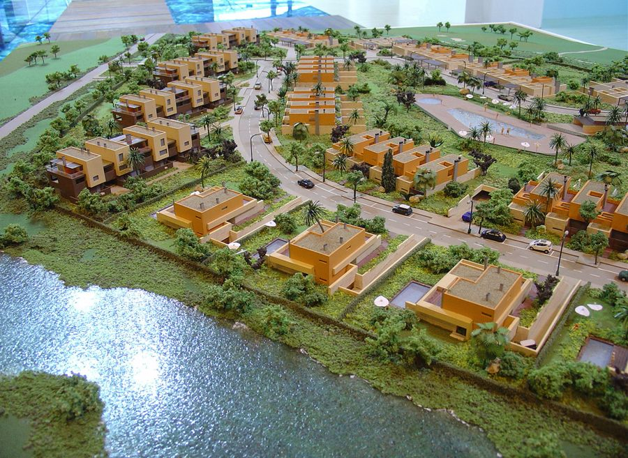 Maquetas para promociones inmobiliarias en madrid codemarka for Promocion inmobiliaria
