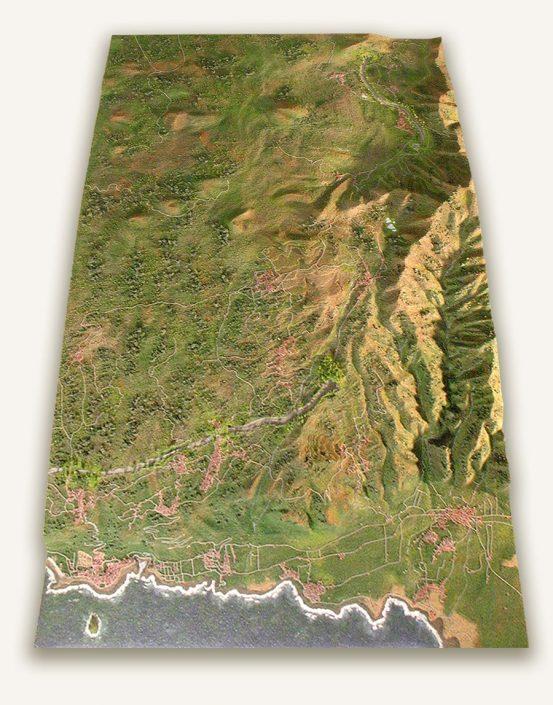 maquetas topograficas
